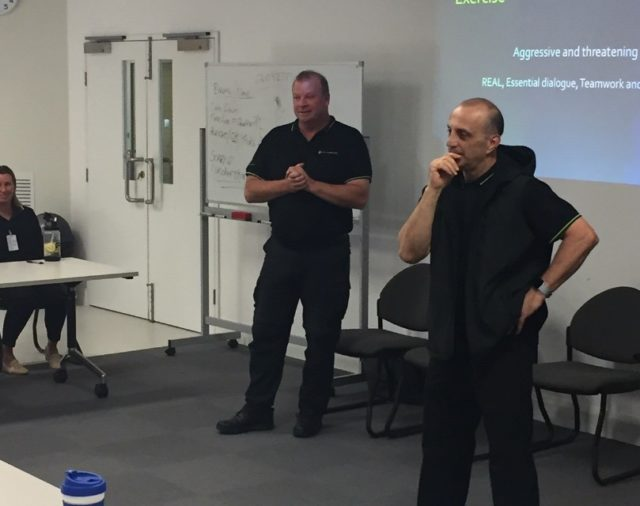 Delivering training in regional Victoria